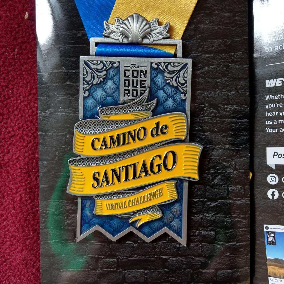 Nächstes Jahr geht's weiter, Heute morgen wäre ich, ohne Corona, auf meinen Camino 2020 gestartet. So bin ich den Frances immerhin virtuell gelaufen mit der Crew. Ich hoffe im nächsten Jahr geht es wieder...