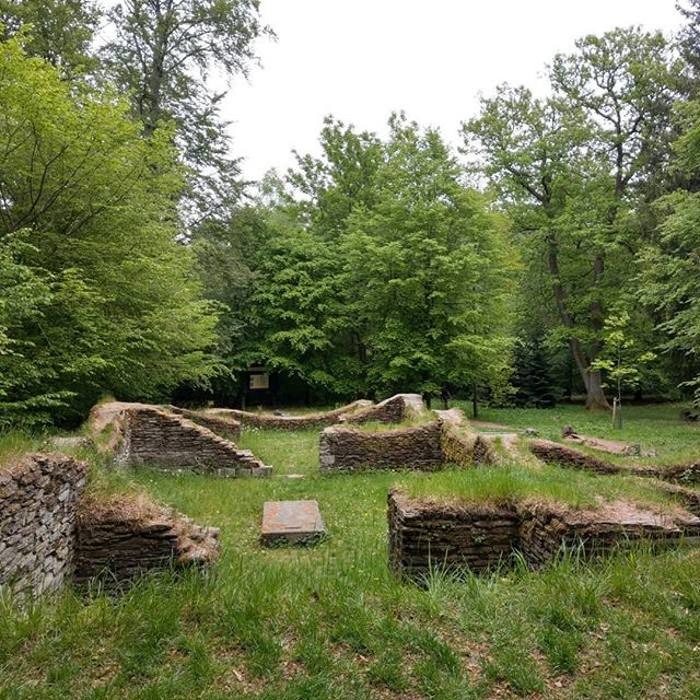 Borbergs Kirchhof - Frühmittelalterliche Wallburg Borbergs Kirchhof - early medieval hill fort 