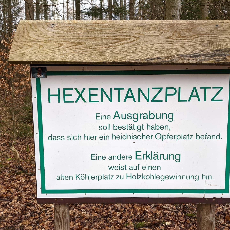 Hexentanzplatz / place for witch danceMitten im Wald / deep in the Forest